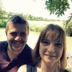 Aaran and Sharon on our boutique narrowboat for hire